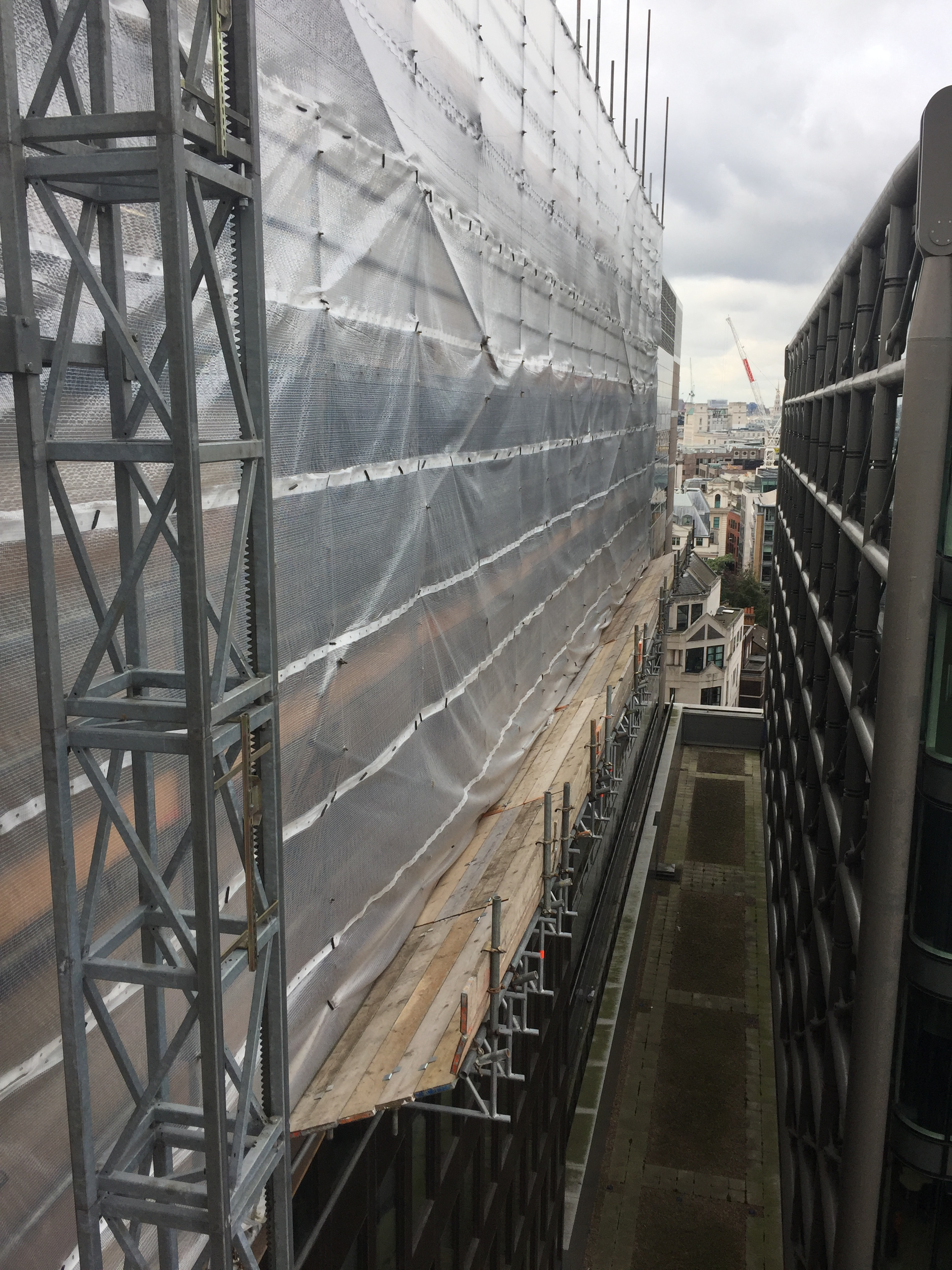 Bush Lane, London EC4R Scaffolding Contractor London