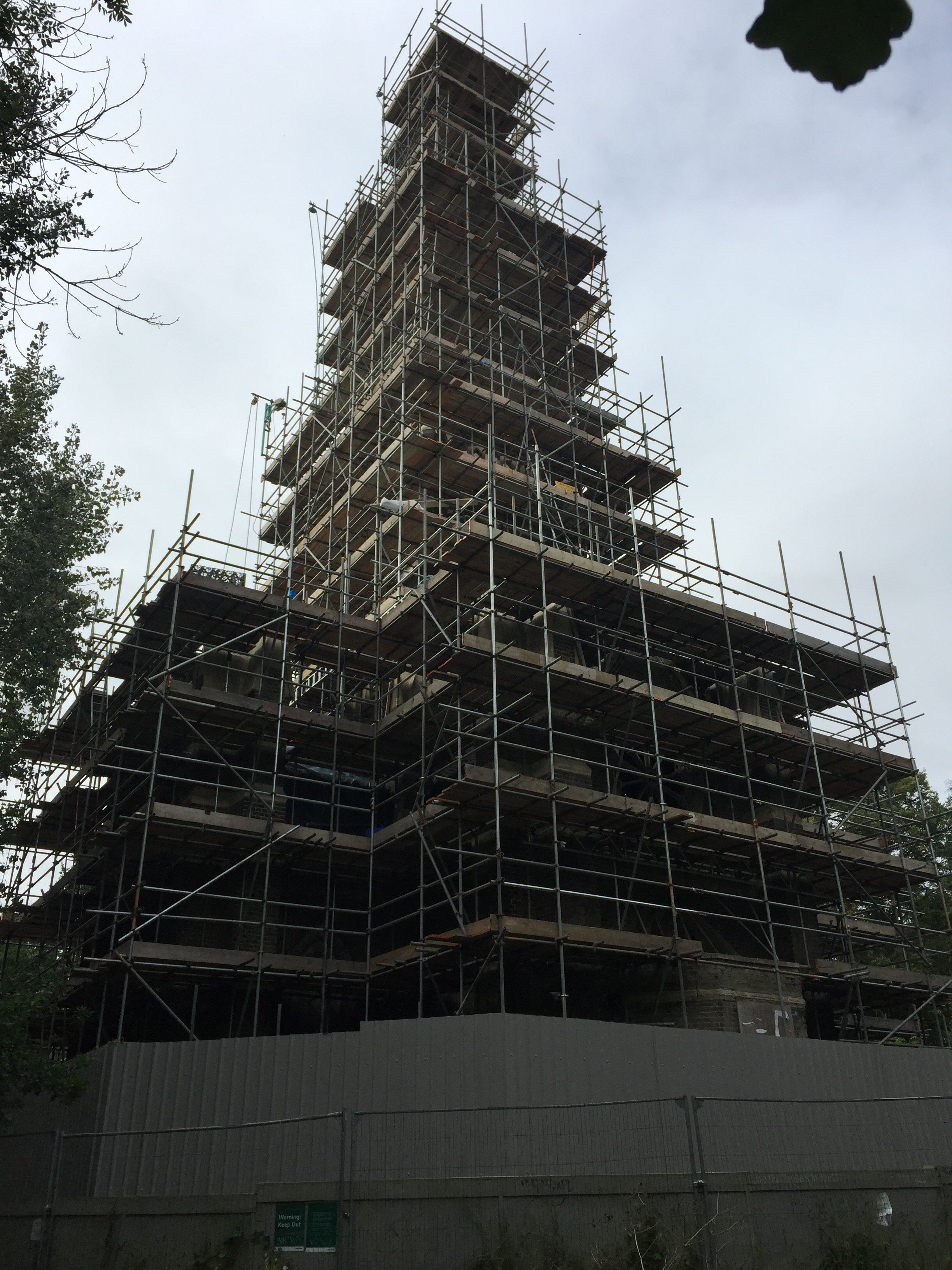 Abney Church London Scaffolding Contractor
